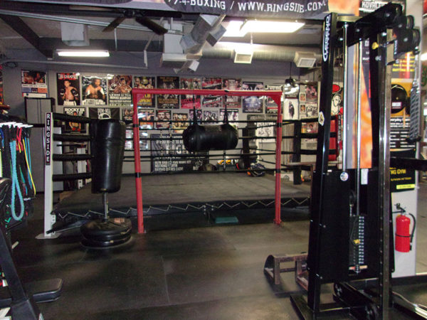 IronGloves Boxing Gym Interior Ring