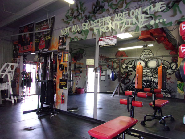 IronGloves Boxing Gym Interior Soldiers