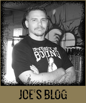 Joe's Corner - Boxing Blog