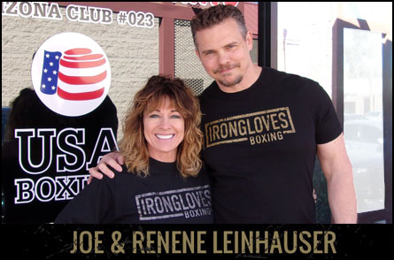 Joe & Renene of IronGloves Boxing Gym
