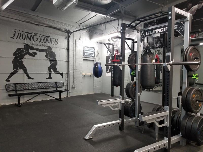 IronGloves Boxing Gym Elite Fitness Collegiate Power Cage