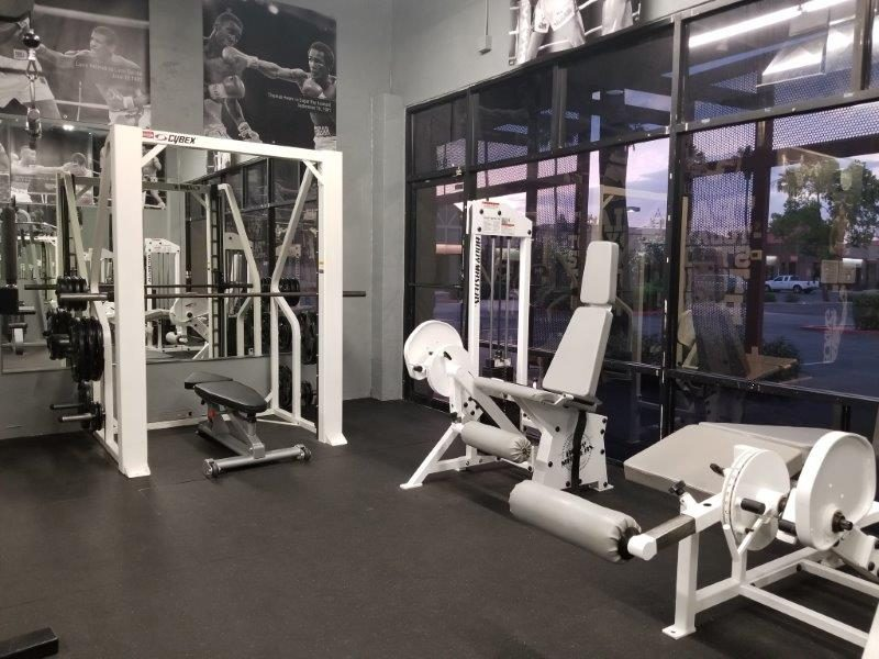 IronGloves Boxing Gym Cybex Smith Machine