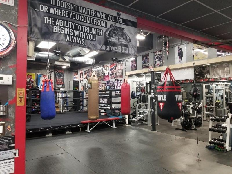 IronGloves Boxing Gym Heavy Bags