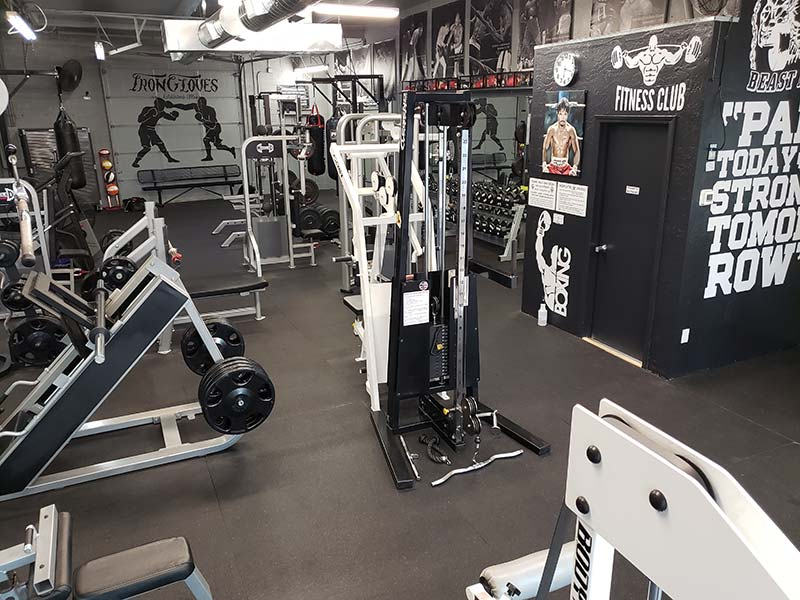 Tempe Boxing Gym Equipment