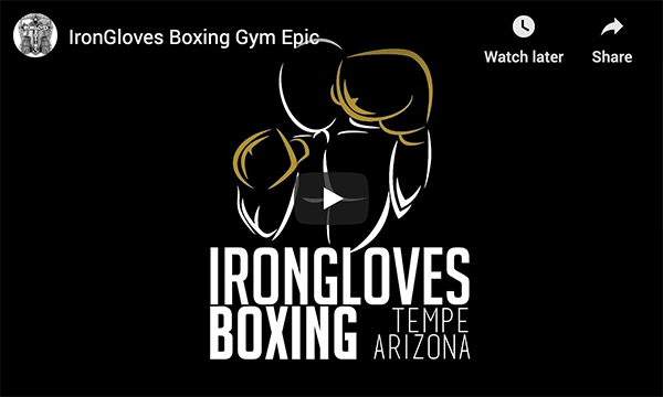 Welcome to IronGloves Boxing Gym